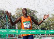 Marathon de Paris: Elisha Rotich bat le record de