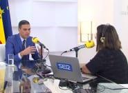 Sánchez responde a las críticas de Ayuso con una sencilla
