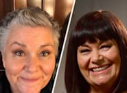 Dawn French Has A Pretty Unconventional Way Of Maintaining Her New Short