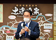 岸田首相、遊説日程をキャンセル 北朝鮮のミサイル発射に対応