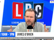 James O'Brien Says What Everyone Is Thinking About The UK's Climbing Covid Infection