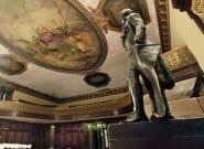 New York: la statue de Thomas Jefferson a été