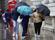 Storm Aurore: Southern England Battered As Heavy Rain And Wind Moves In From