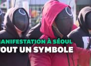 En Corée du Sud, ils manifestent en tenues de