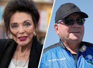 Joan Collins Blasts William Shatner's Trip Into Space: 'What A