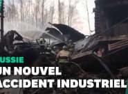 En Russie, l'incendie d'une usine d'explosifs fait au moins 15
