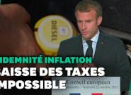 Sur la hausse des carburants, Macron répond à ceux qui lui demandent de baisser les