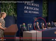 El significativo gesto (no correspondido) de Felipe a Letizia cuando Leonor se acuerda de