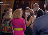 Pilar Eyre comenta el llamativo gesto que ha tenido Letizia con la reina Sofía y así lo