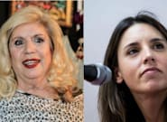 Le preguntan a María Jiménez por Irene Montero y es imposible decirlo todo más