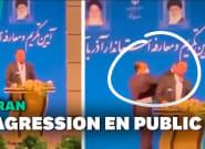 Un officiel iranien violemment giflé en plein