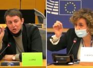 Dolors Montserrat y Javi López se enzarzan en el Parlamento Europeo por las restricciones de circulación en