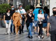 España supera los cinco millones de contagios oficiales, en un repunte de la