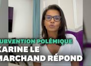 Karine Le Marchand renonce à sa subvention polémique auprès de la région