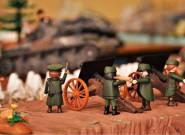 Η Μάχη των Οχυρών με Playmobil στο Πολεμικό Μουσείο
