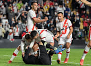 El Rayo hunde al Barça en Vallecas, con un tanto de Falcao