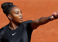Serena Williams Wears A Fierce Black Catsuit For French Open