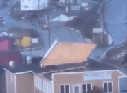 Newfoundland Storm Winds Rip Roof Of Harbour Restaurant In Port aux