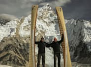 Canadian Brothers Climb Mount Everest With Canoes On Their