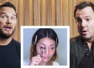 Chris Pratt, Will Arnett's Makeup Tutorial Play-By-Play Is All Kinds Of