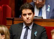 Gabriel Attal devient le plus jeune ministre de la Ve