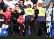 Chelsea-Manchester United: Mourinho avait pourtant promis de rester calme ce