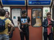 Indignación generalizada por el comportamiento de un grupo de jóvenes en el Metro de