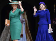 Fergie, Prince Andrew And Beatrice Celebrate Their Eugenie At Her Royal