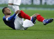 France-Uruguay: Mbappé sort sur blessure (comme