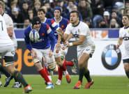 Le logo de la Coupe du monde de rugby 2023 en France