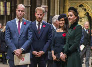 Royal Family Solemnly Commemorates Remembrance Day 2018 In