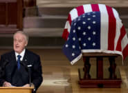 Watch Brian Mulroney's Full Tribute To George H. W Bush At State Funeral
