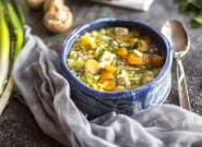 Slow Cooker Chicken And Wild Rice Soup Is A Comforting Weeknight