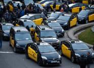 Un conductor de Cabify, enviado al hospital tras el ataque de un grupo de taxistas en