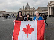 Canadian Sex Abuse Survivors Shed Their Shame At Historic Vatican