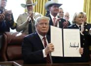 Trump emite el primer veto de su mandato para anular la decisión del Congreso contra su declaración de