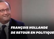 Un retour en politique? François Hollande avoue