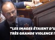 Edouard Philippe déplore des images