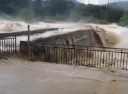 Inondations dans l'Aude: les images des rivières en
