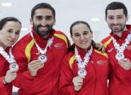 España, subcampeona del mundo de curling: