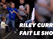 Riley Curry vole encore la vedette à son père Stephen