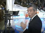 El Telediario de TVE con Oriol Nolis sorprende con una imagen vista muy pocas