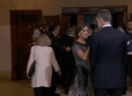 El significativo gesto de Letizia a Felipe VI momentos antes del Princesa de