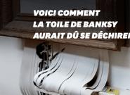 Banksy révèle que la destruction de son œuvre ne s'est pas passée comme