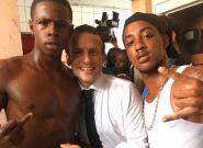 L'un des deux jeunes sur la photo de Macron à Saint-Martin interpellé pour possession de
