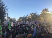 Durant le rassemblement à Paris, ces poings levés sont autant de victimes de