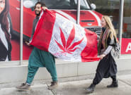 Canadians Celebrate Weed Legalization From Across The