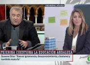 El detalle en su conexión con Ferreras que Susana Díaz no ha dejado al azar en 'Al Rojo Vivo' (La