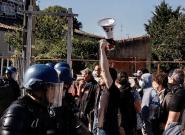 À Rodilhan dans le Gard, une manifestation anti-corrida sous haute