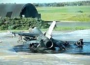 En Belgique, un technicien détruit un F-16 par
